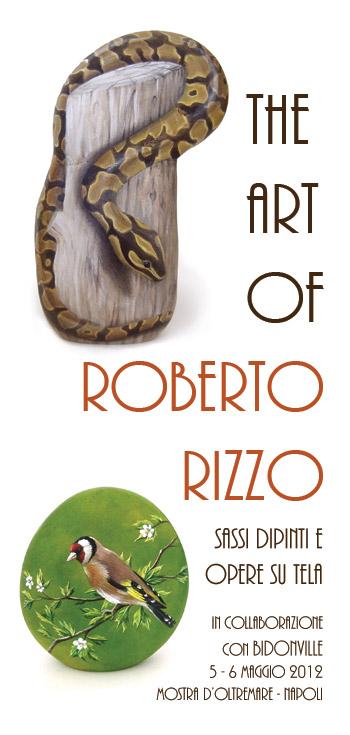 Roberto Rizzo | Esposizione alla Fiera del baratto e dell'usato