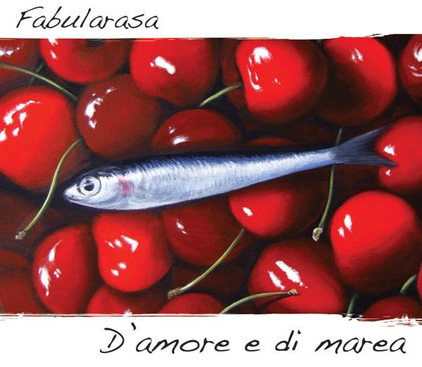 Illustrazione di copertina del nuovo disco dei Fabularasa