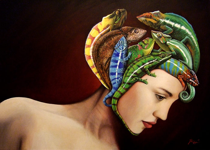 Pensieri di donna | L'arte di Roberto Rizzo