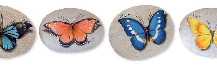 Sassi Dipinti - Farfalle