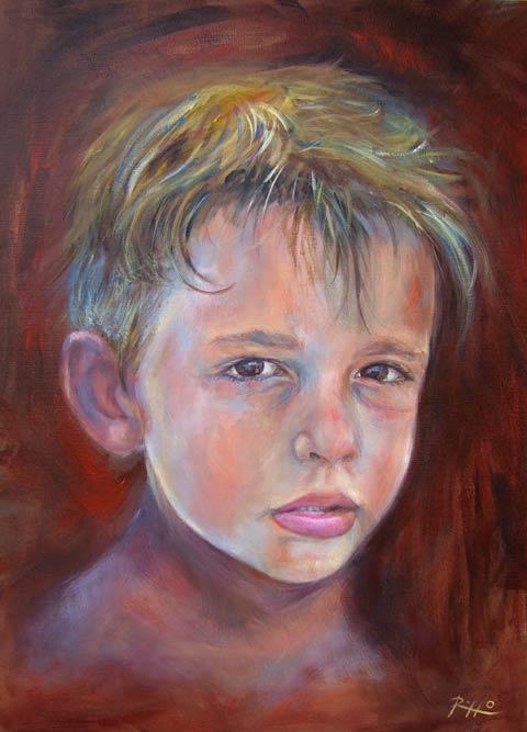 Ben noto Ritratti di bambini - Niccolò | L'arte di Roberto Rizzo NT72