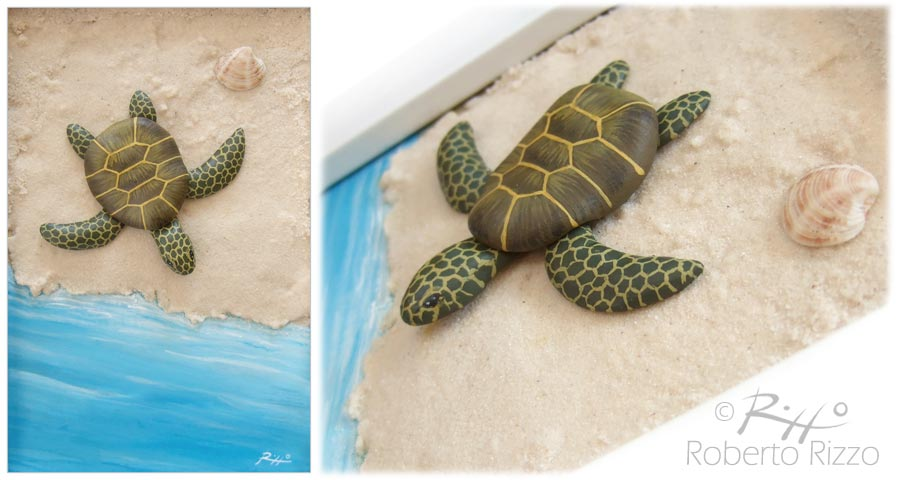 tartarughe dipinte su pietra l 39 arte di roberto rizzo