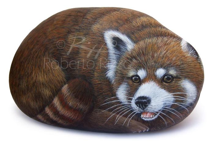 Dipingere i sassi con animali
