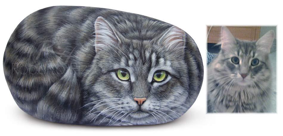 Ritratti di gatti - Maya