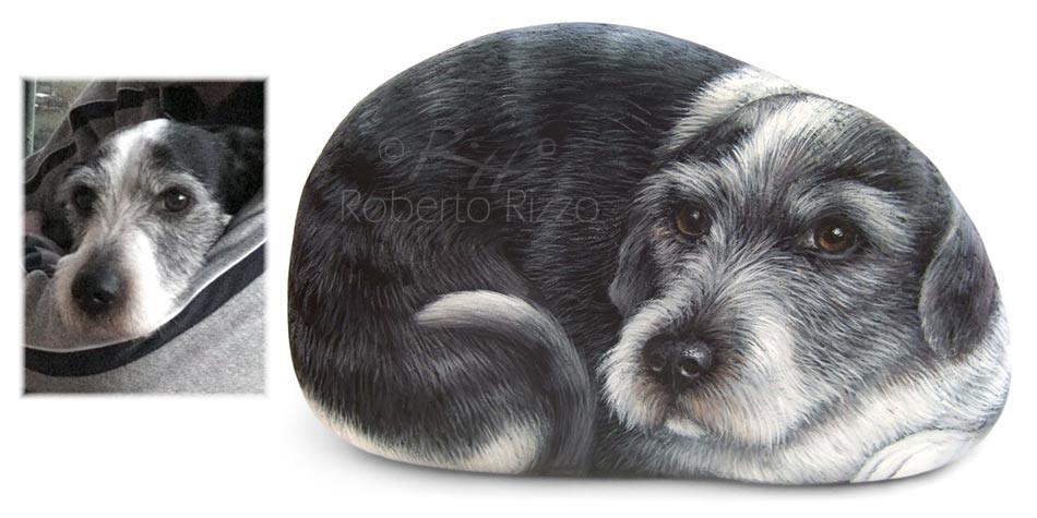 Dipinti con cani - Purpacchio