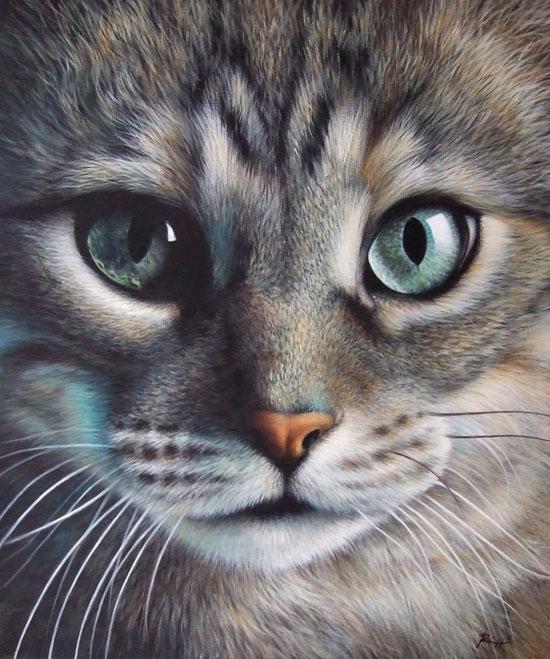 Sassi Dipinti Quadri E Ritratti Di Animali Larte Di Rizzo