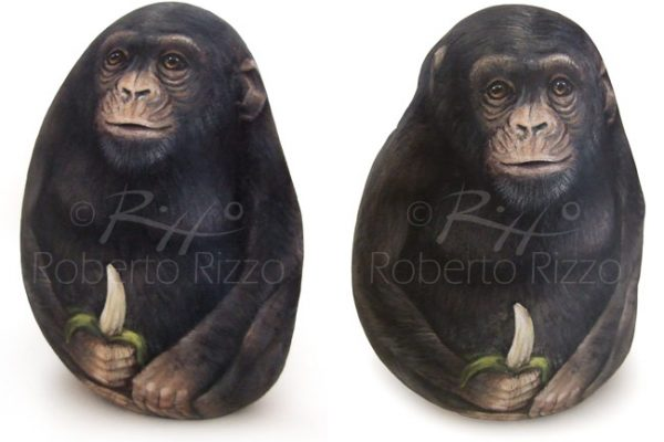 Scimmia Dipinta