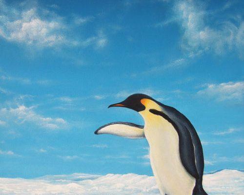 Pinguino Dipinto | L'arte Di Roberto Rizzo