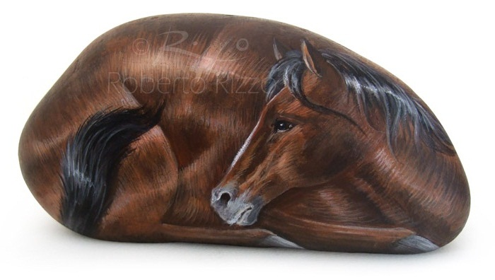 Sassi Dipinti - Cavallo