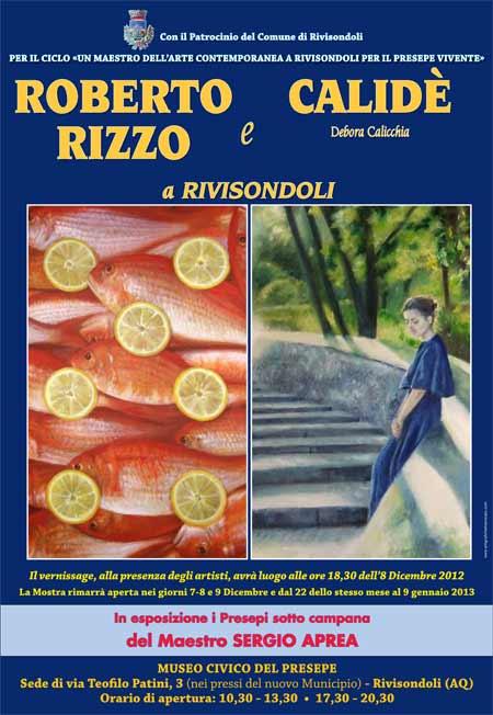 Mostra di pittura | Rizzo e Calidè