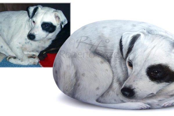 Ariel - Cani Dipinti Su Pietra
