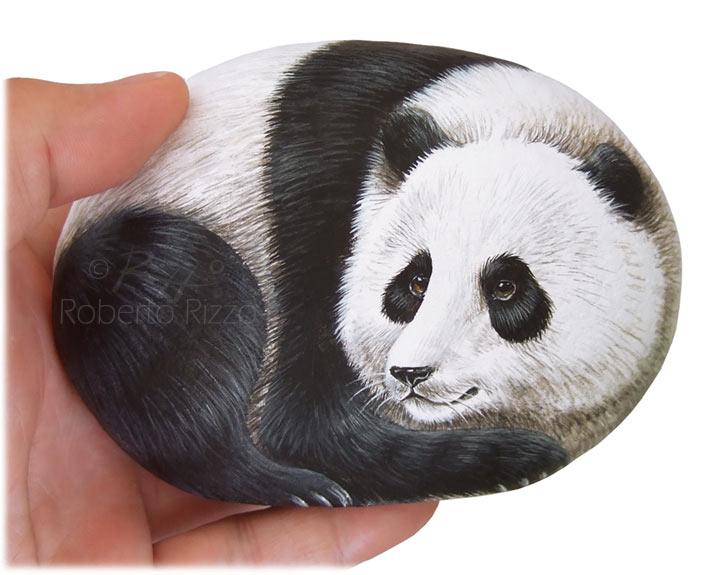 Panda ritratto