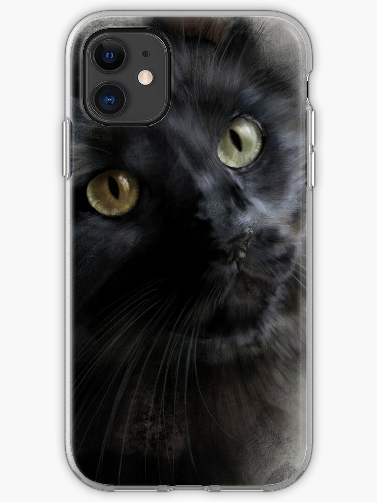 Cover iPhone Black Cat